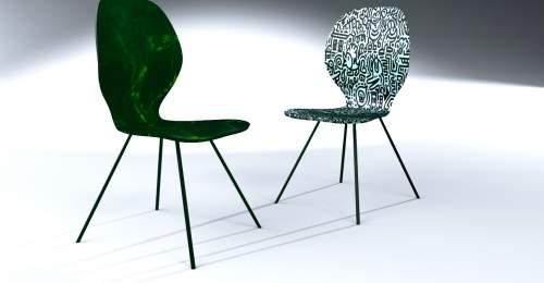 Designer Louis Kagan's chair design